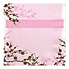 Cherry Blossom - Bridal Shower Luncheon Napkins - 16 ct