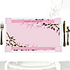 Cherry Blossom - Personalized Bridal Shower Placemats