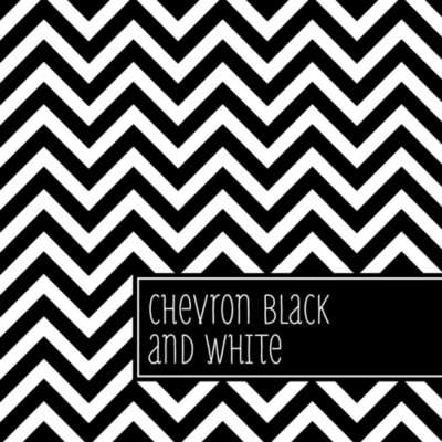 Chevron Black And White Personalized Party Water Bottle