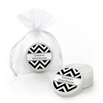 chevron black and white personalized