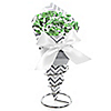 Chevron Gray - Baby Shower Candy Bouquets with Frooties