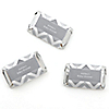 Chevron Gray - Personalized Baby Shower Mini Candy Bar Wrapper Favors - 20 ct
