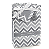 Chevron Gray - Personalized Everyday Party Favor Boxes