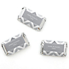 Chevron Gray - Personalized Everyday Party Mini Candy Bar Wrapper Favors - 20 ct