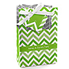 Chevron Green - Personalized Everyday Party Favor Boxes