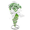 Chevron Green - Everyday Party Candy Bouquets with Frooties
