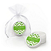 Chevron Green - Personalized Everyday Party Lip Balm Favors