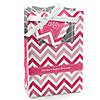 Chevron Pink - Personalized Baby Shower Favor Boxes