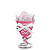 Chevron Pink - Baby Shower Mini Candy Bouquets with Lollipops