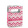 Chevron Pink - Personalized Baby Shower Mini Favor Boxes