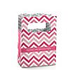 Chevron Pink - Personalized Birthday Party Mini Favor Boxes