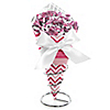 Chevron Pink - Everyday Party Candy Bouquets with Frooties