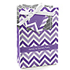 Chevron Purple - Personalized Everyday Party Favor Boxes