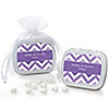 Chevron Purple - Personalized Everyday Party Mint Tin Favors