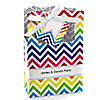 Chevron Rainbow - Personalized Everyday Party Favor Boxes