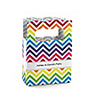 Chevron Rainbow - Personalized Everyday Party Mini Favor Boxes