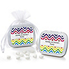 Chevron Rainbow - Personalized Everyday Party Mint Tin Favors