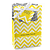 Chevron Yellow - Personalized Baby Shower Favor Boxes