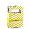 Chevron Yellow - Personalized Baby Shower Mini Favor Boxes