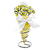 Chevron Yellow - Everyday Party Candy Bouquets with Frooties