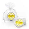 Chevron Yellow - Personalized Everyday Party Lip Balm Favors
