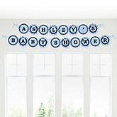 Construction Truck - Personalized Baby Shower Garland Banner