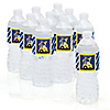 Construction Truck - Personalized Baby Shower Water Bottle Label Favors
