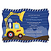 Construction Truck - Personalized Birthday Party Invitations