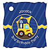 Construction Truck - Personalized Birthday Party Tags - 20 ct