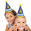 Construction Truck - Personalized Cone Birthday Party Hats - 8 ct