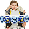 Construction Truck - 1st Birthday - I Am One - First Birthday High Chair Banner
