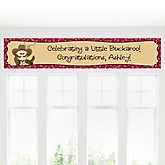 Little Cowboy - Western Personalized Baby Shower Banner