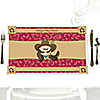 Little Cowboy - Western Personalized Baby Shower Placemats