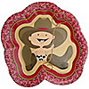 Little Cowboy - Baby Shower Dinner Plates - 8 ct