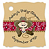 Little Cowboy - Personalized Baby Shower Tags - 20 ct