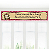 Little Cowboy - Personalized Birthday Party Banners