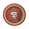 Little Cowboy - Birthday Party Dessert Plates - 8 ct