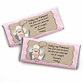 Little Cowgirl - Western Personalized Baby Shower Candy Bar Wrapper