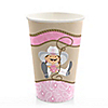 Little Cowgirl - Baby Shower Hot/Cold Cups - 8 ct