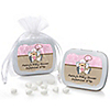 Little Cowgirl - Personalized Baby Shower Mint Tin Favors