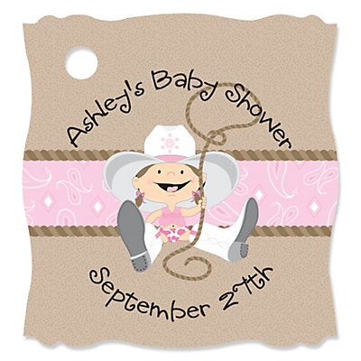 cowgirl baby shower tags thumb