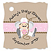 Little Cowgirl - Personalized Baby Shower Tags - 20 ct