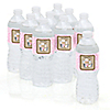 Little Cowgirl - Personalized Baby Shower Water Bottle Label Favors