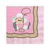 Little Cowgirl - Birthday Party Beverage Napkins - 16 ct