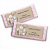 Little Cowgirl - Personalized Birthday Party Candy Bar Wrapper Favors