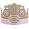 Little Cowgirl - Western Personalized Birthday Party Hats - 8 ct