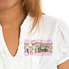 Little Cowgirl - Personalized Birthday Party Name Tag Stickers - 8 ct