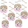 Little Cowgirl - Western Birthday Party Hanging Decorations - 6 ct