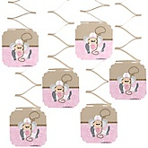 Little Cowgirl - Western Baby Shower Hanging Decorations - 6 ct