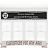 Custom Birthday - Personalized Birthday Party Banners